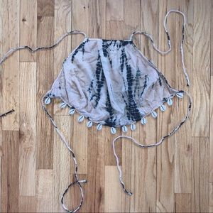 Conch Shell Halter Top